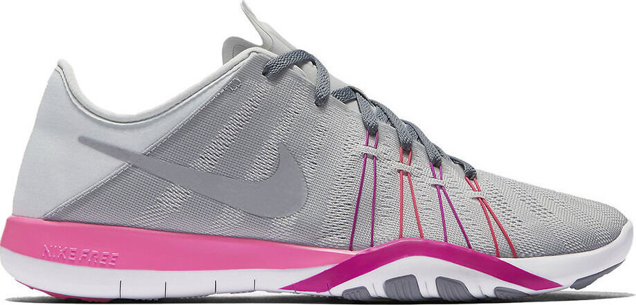 femmes Nike Free TR 6 Pure Platinum Stealth rose Bla running training 833413-006
