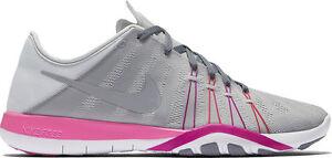 28dbd16de238 Womens Nike Free TR 6 Pure Platinum Stealth Pink Bla running ...