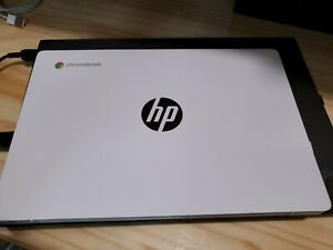 NEW HP 11a-na0021nr Chromebook: MediaTek 8-Core 2 GHz/4GB/32GB/11.6in/Snow White