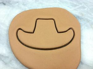 Cowboy Hat Cookie Cutter CHOOSE YOUR OWN SIZE Shoe Cowgirl Lasso Western