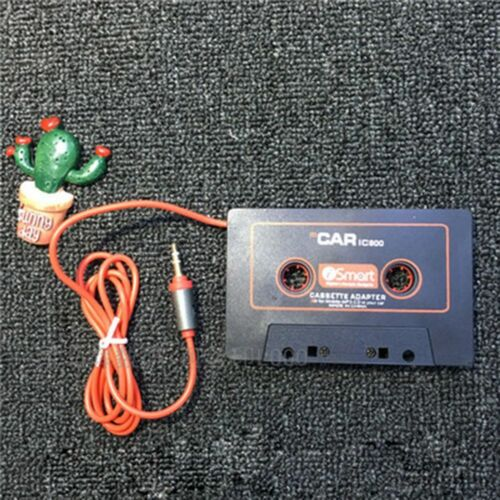 Audio Converter IPod Car Cassette Tape Adapter AUX Cable CD Player 3.5mm Jack