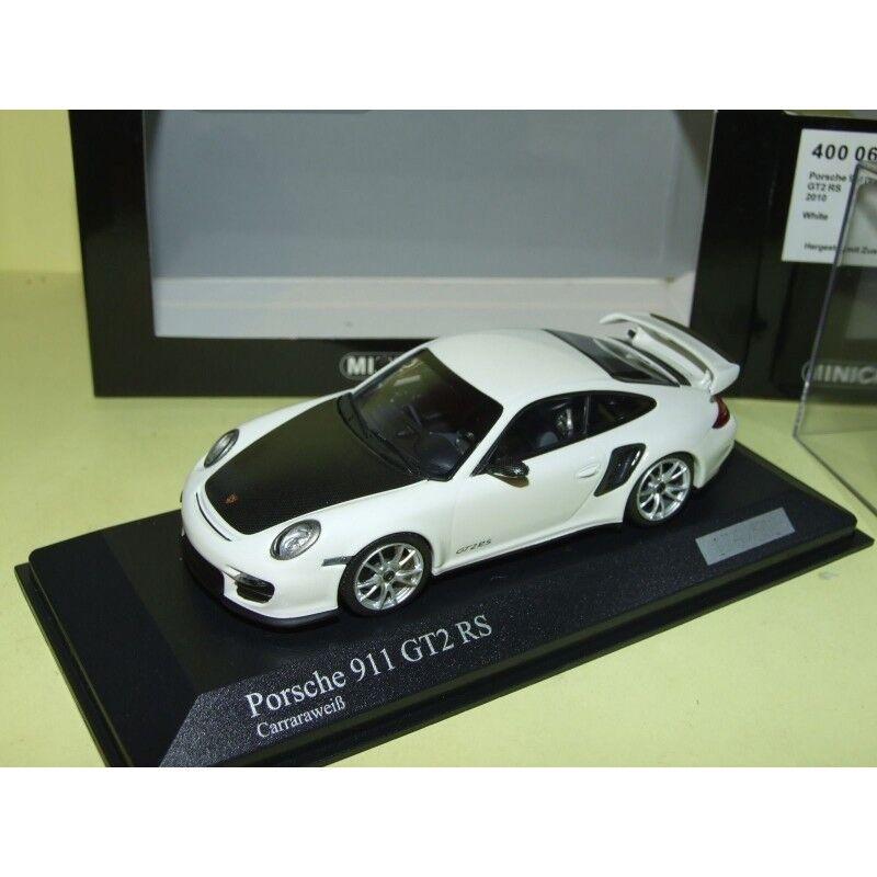 Porsche 911 gt2 RS Phase II 997  2010 Blanc Minichamps 1 43  confortable