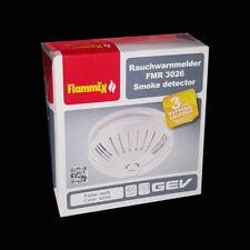 GEV Rauchwarnmelder 3026 1,5 Jahre 9 V weiß FMR 3026 85 dB//3m Brandmelder