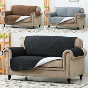 Image Is Loading Quilted Sofa Protector Furniture Cover Water Resistant