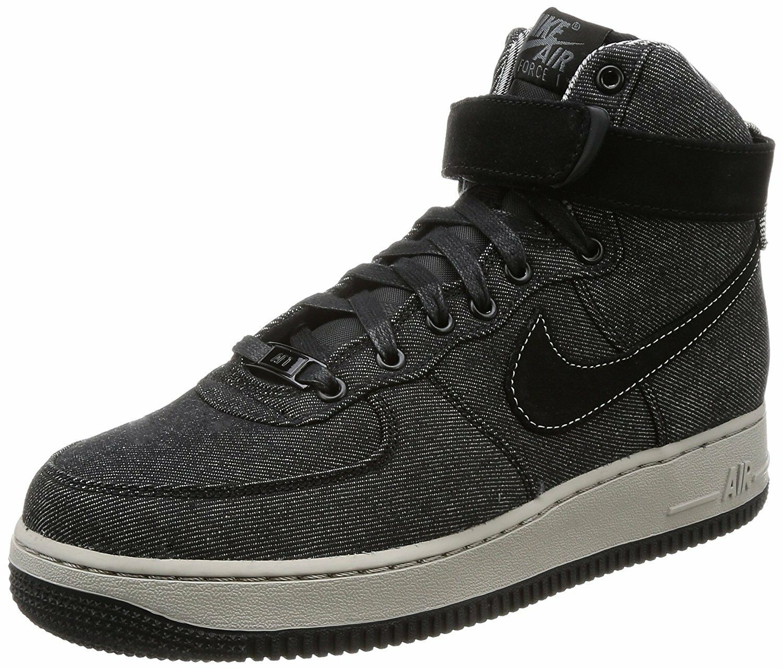 Nike Air Force 1 Hi SE Black/Dark Grey-Cobblestone (WS) (860544 003)