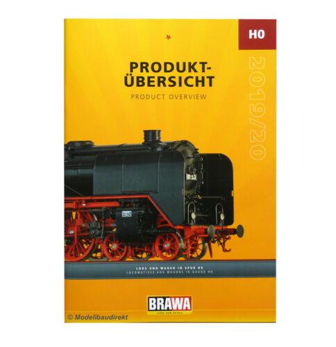 Brawa Bahn H0 1:87 Produktübersichts Katalog 2019 /& 2020 Lok-Modelle /& Wagen