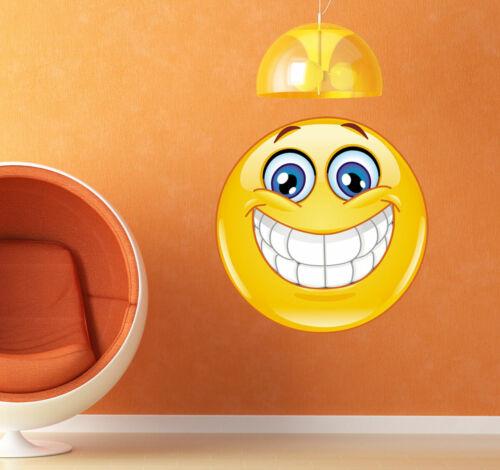 ced120 Full Color Wall decal Sticker smile emotion joy  living room bedroom