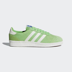e66600ca98 Adidas Originals Spezial Munchen Super Spzl Green Off White Sneakers ...