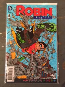 Image Is Loading DC ROBIN SON OF BATMAN 8 COMIC ADULT