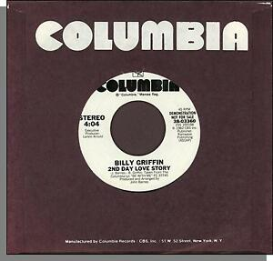 Billy-Griffin-2nd-Day-Love-Story-1981-Columbia-Promo-7-034-45-RPM-Single
