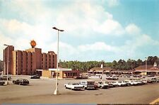 MACON GEORGIA QUALITY INN NORTH~RIVERSIDE PLAZA SHOPPING CENTER~ A&P POSTCARD