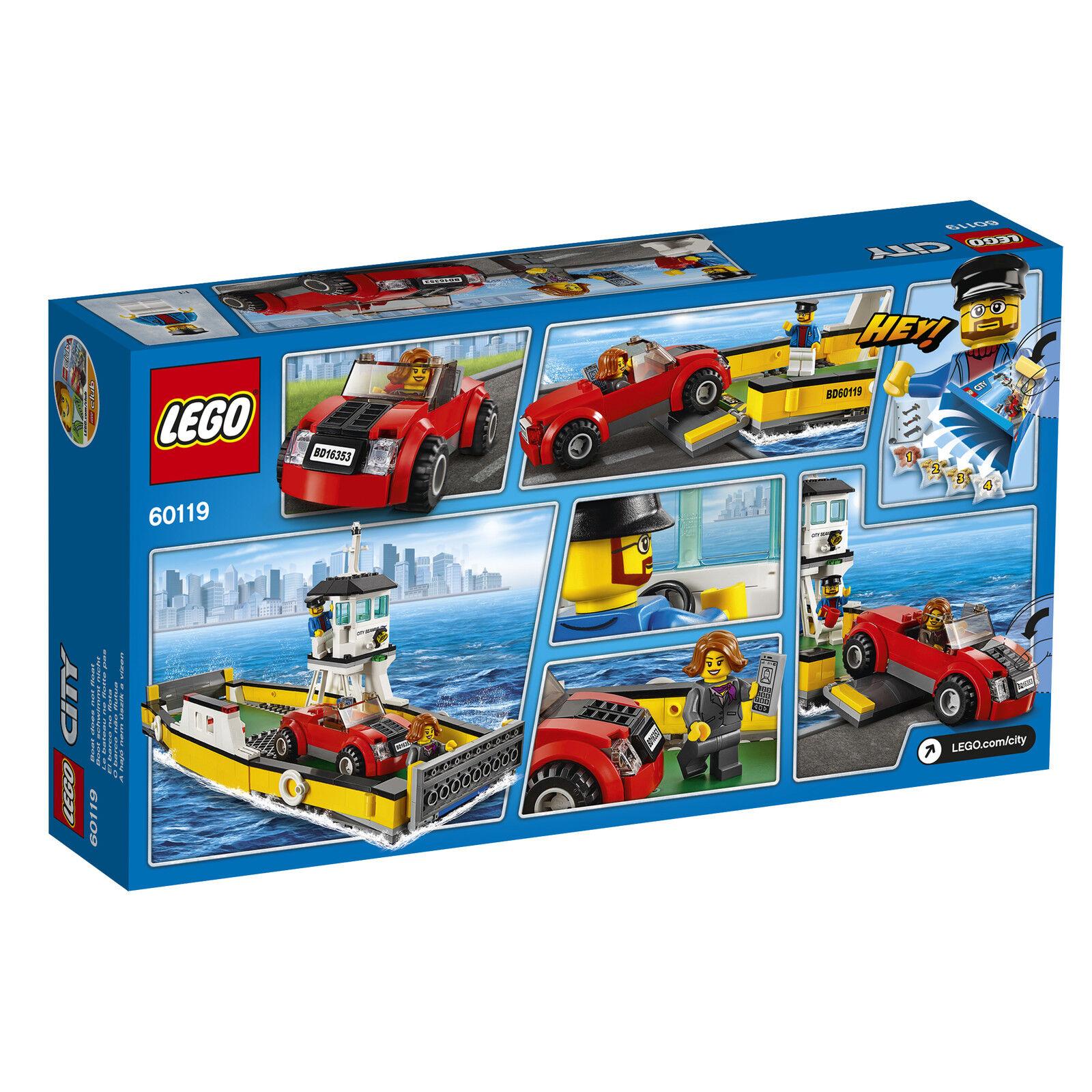 LEGO® City 60119 Fähre Ferry NEU OVP_ Ferry Fähre NEW MISB NRFB 3432e6