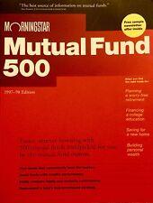 Morning Star Mutual Fund 500, 1997-98 Edition