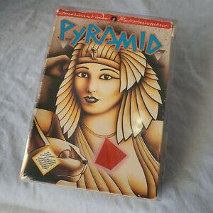 Pyramid-Nintendo-NES-Game-Box-Manual-amp-Collectors-Cover-Case-CIB-Complete