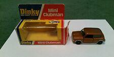 DINKY MINI CLUBMAN - 178 - 1:43 MINT + BOX - BRONZE