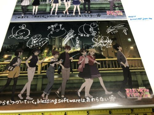 Saenai Heroine no sodatekata fine movie limited pin up 2 set japan anime saekano