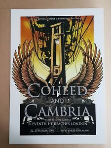 Coheed-and-Cambria-Melbourne-2006-Concert-Poster-Art-Joe-Whyte