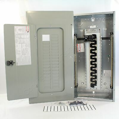Eaton BR3060BQN100 BR 30-Space Main Breaker Panel Quick Connect Neutral 100A