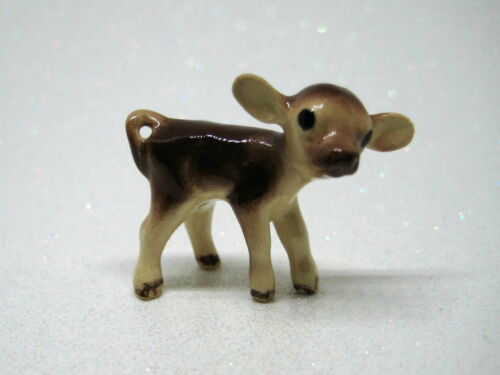 Hagen Renaker miniature made in America Jersey calf retired hard to find