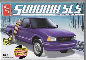 AMT '95 1995 Sonoma SLS GMC Pickup En 1/25 1168 St Avec / Snowboard & Bottes