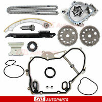 Engine Timing Chain Water Pump Kit 00-08 Chevy Saturn 2.0l 2.2l Dohc Ecotec L61 on sale