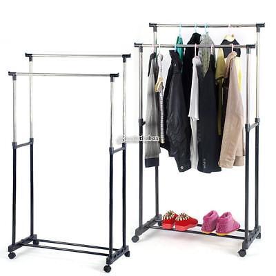 Metal Hat Rack//Wardrobe//Adjustable Extendable Hanging Hangers//Non Slip B98B