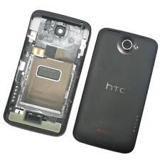 Cover Posteriore Batteria For HTC One X con Volume Alimentazione Key Grigio