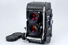 N.Mint Mamiya C330 Professional F Secor S 80mm f/2.8 Blue Dot Lens fromJapan#o15