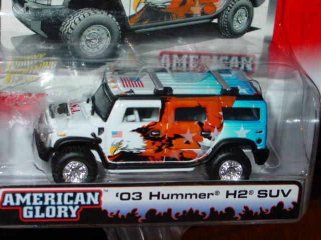 Johnny White Lightning Street Freaks 2003 03 Hummer H2 Suv White