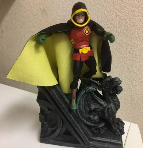 Custom Batman Robin Cloth Cape Dc Collectibles Animated Dc Multiverse  CAPE ONLY