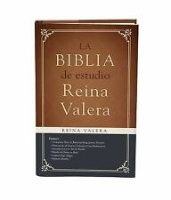 La Biblia de Estudio Reina Valera (2015, Hardcover)