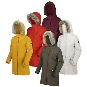 Regatta Womens Serleena II Waterproof Long Length Insulated Parka Jacket RRP£100