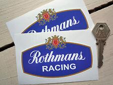 ROTHMANS MOTOR RACING SPONSORS LOGO Porsche Escort BDA