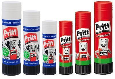 Pritt Stick Original Glue Stick 11g, 22g, 43g, Non Toxic Washable