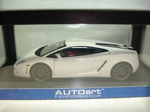 Image Is Loading Autoart Lamborghini Gallardo LP550 2 Balboni White 74635