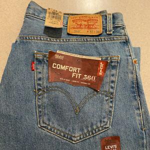 Levi's 560 NEW Men's Jeans | Size 32 x 36 Comfort Fit | W32 x L36 Stonewash