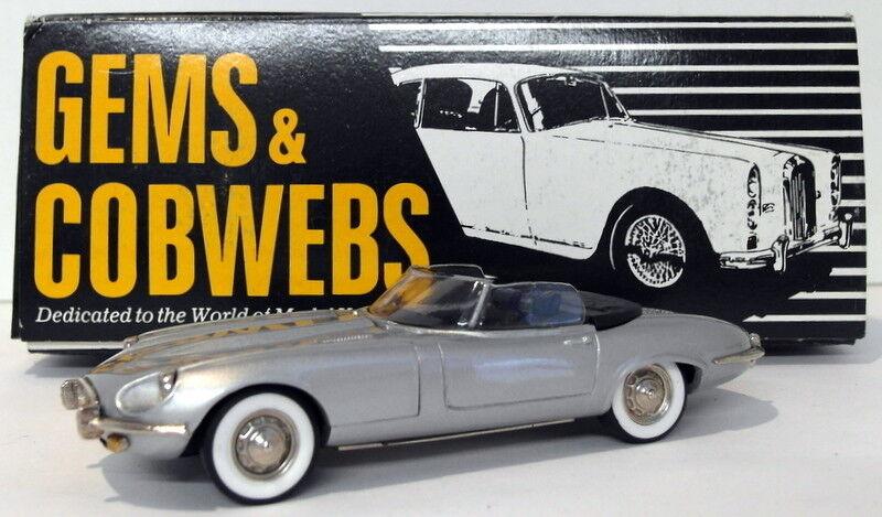 sin mínimo Gems & Cobwebs 1 43 Scale GC22 - 1972 Jaguar Jaguar Jaguar V12 Converdeible - plata  elige tu favorito