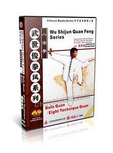 Chinese-Traditional-Kungfu-martial-arts-Bafa-Quan-by-Wu-Shijun-DVD