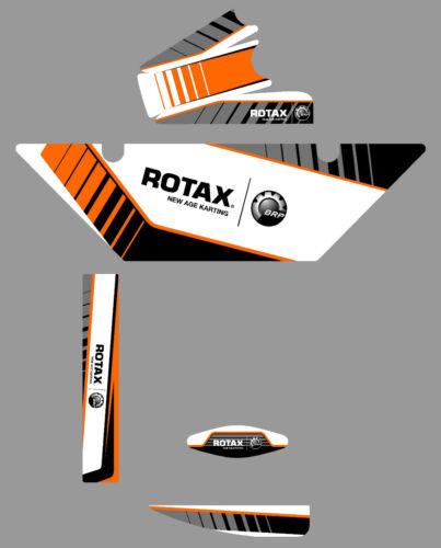 Sodi Style Autocollant RADIATEUR ROTAX Kit-Karting