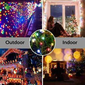 22m-200LED-Catena-di-Luci-Solare-Esterno-Illuminazione-Natale-Festa-Giardino