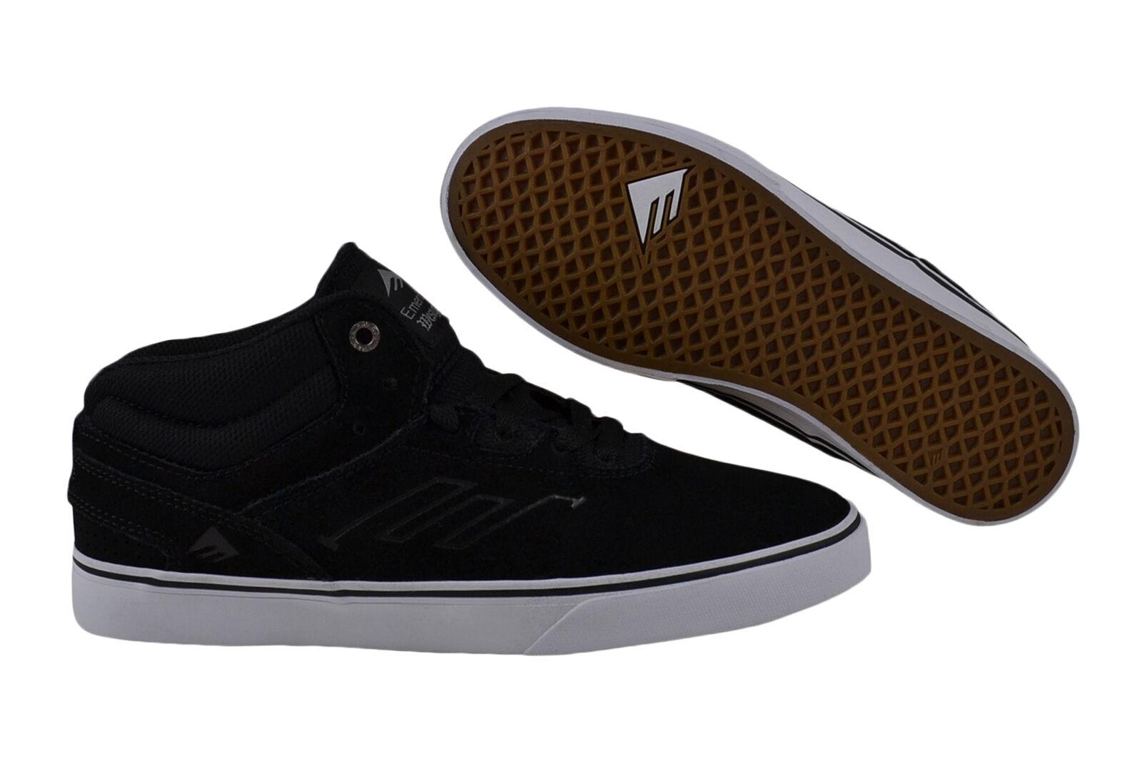 Emerica Westgate Mid Vulc Laced black/white Sneaker/Schuhe schwarz
