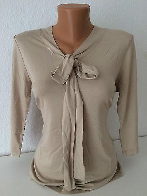 SHEEGO Damen Shirt Bluse Taupe Gr. 38-54 NEU