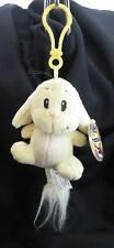 1 NEOPET PLUSHIE CLIPS Key Chain :  YELLOW KACHEEK New with tag