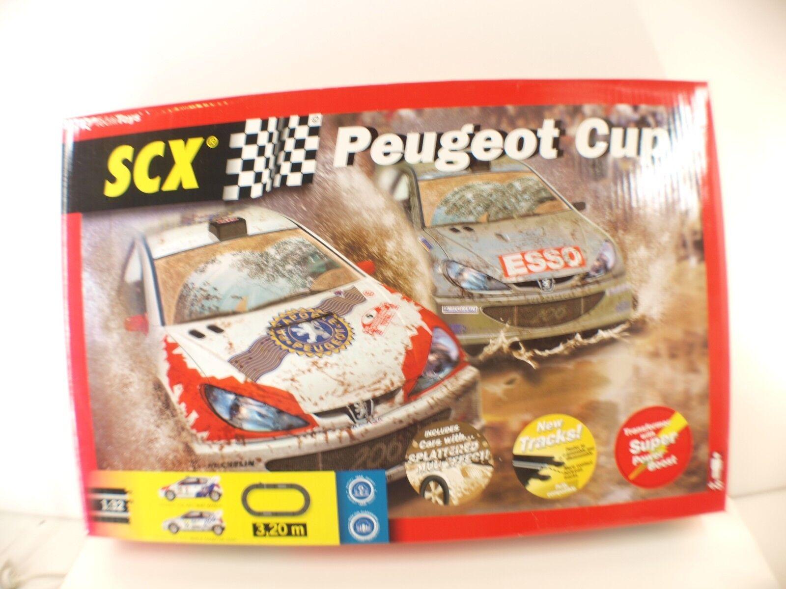 Technitoys Scx - Circuito Peugeot Cup- 206 WRC 1  3 2-2000 - Nunca Abierto