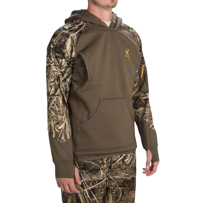 New Men`s Browning Dirty Bird Timber Fleece Hoodie MSRP 149