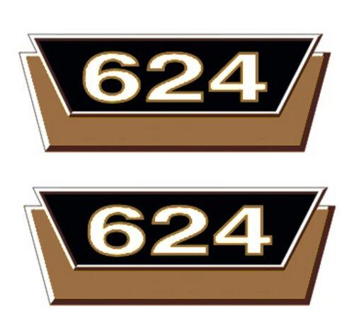 IHC mc cormick tipos pegatinas 624 oro 2 x logotipo emblema sticker Label ca15 x 6cm