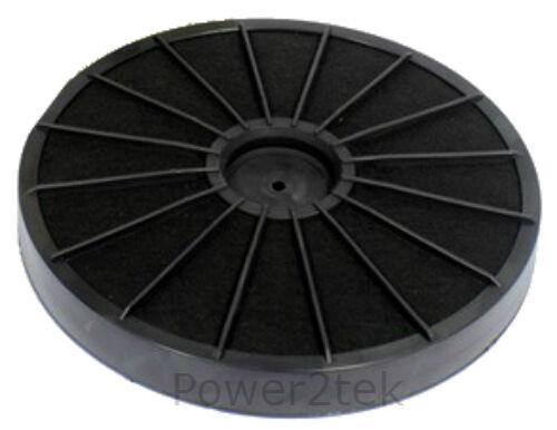 Eff54 TIPO CARBONIO NERO FUMO odori Filtro Per Ariston Cappa Sfiato Estrattore