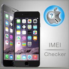 iPhone GSX Carrier Check + Unlock Status 4S, 5, 5S, 5c, SE, 6, 6S, 6+, 7, 7+