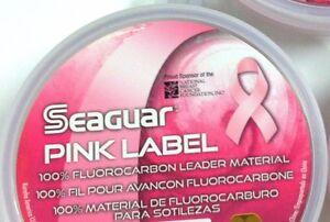 SEAGUAR-100-FLUOROCARBON-PINK-CLEAR-25-YARDS-SUPER-DEAL