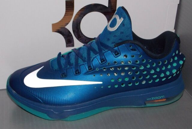 buy popular 86c23 e2870 Nike KD VII 7 Elite Size 9.5 Blue Grey Kevin Durant 724349-404 Jordan 8 9